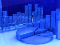 Finança abstrata Imagens de Stock Royalty Free