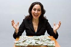 Finança bem sucedida Imagem de Stock