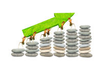 Finança das formigas Imagem de Stock Royalty Free