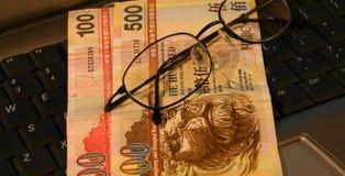Finança de Hong Kong Fotografia de Stock