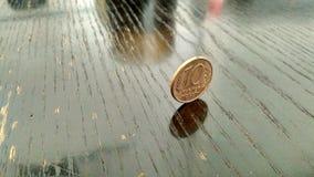 Finança 10 de Rússia do dinheiro da moeda mini fotos de stock royalty free