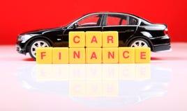 Finança do carro Fotografia de Stock Royalty Free
