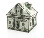 Finança dos bens imobiliários Imagens de Stock Royalty Free