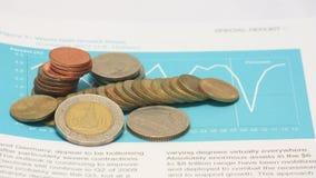 Finança e dinheiro Imagem de Stock