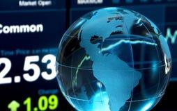 Finança global Imagem de Stock Royalty Free
