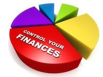 Finanças ilustração royalty free
