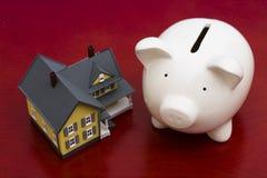 Finanças da HOME Fotografia de Stock