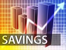 Finanças das economias ilustração royalty free