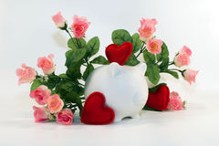 Finanças do amor Imagens de Stock Royalty Free