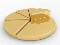 Finanças do diagrama Imagens de Stock