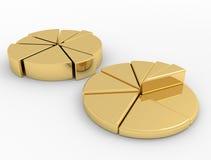Finanças do diagrama Imagem de Stock Royalty Free