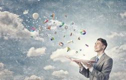 Finanças e economia Foto de Stock Royalty Free