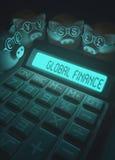 Finança e negócio globais Fotografia de Stock