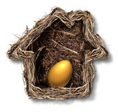 Finanças da casa Imagem de Stock Royalty Free