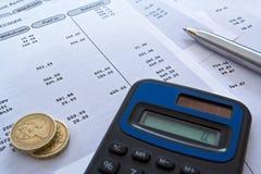 Finanças pessoais Imagens de Stock