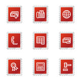 Finance 2 web icons Stock Photos
