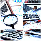 Finance. Business and financial concept, financial growth stock photo