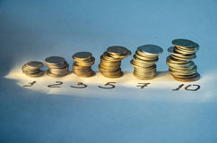 Finance. Revenues are growing day by day Stock Photos