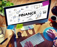 Finance Accounting Banking Economy Money Concept.  Stock Image