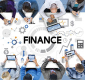 Finance Accounting Banking Economy Money Concept Stock Image