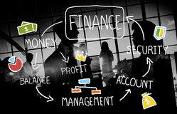 Finance Accounting Financial Analysis Management Concept Royalty Free Stock Images