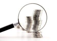 Finance analysis Stock Photography