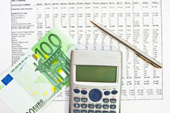 Finance Analysis Data Royalty Free Stock Photos