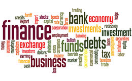 Finance background Royalty Free Stock Photography