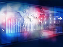 Finance background Royalty Free Stock Images
