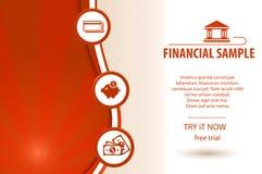 Finance Background vector illustration