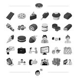 Finance, bank, staff and other web icon in black style.dessert, sweet, confectioner icons in set collection. Finance, bank, staff and other  icon in black style Royalty Free Stock Image