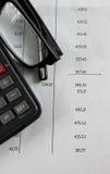 Finance bank statement Royalty Free Stock Image