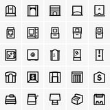 Finance & banking icons. Available in high-resolution and several sizes to fit the needs of your project Royalty Free Stock Photos