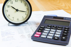 Finance business calculation Royalty Free Stock Image