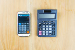 Finance business calculation Stock Image