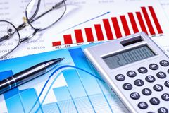 Finance and business stock image