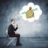 Finance and business concept stock image