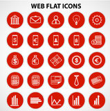 Finance and Business Icon. Set, Vector, Illustration Stock Image
