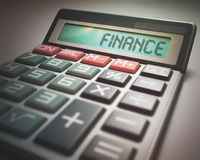 Finance Calculator Royalty Free Stock Image