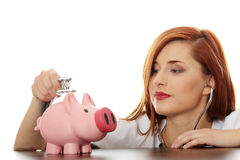 Finance care Royalty Free Stock Photo