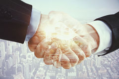Finance and collaboration Stock Photo