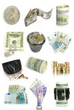 Finance collection Stock Photo