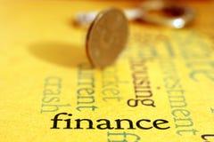 Finance concept Royalty Free Stock Photos