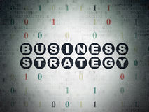 Finance concept: Business Strategy on Digital Stock Images