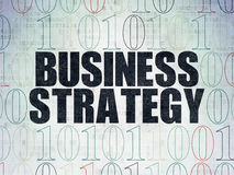 Finance concept: Business Strategy on Digital Stock Photos