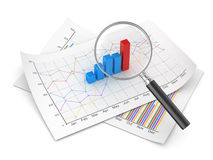 Finance concept. Computer generated image. 3d rendered image Royalty Free Stock Image