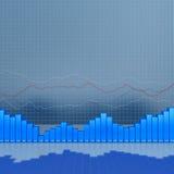 Finance concept diagram. 3d render image Stock Photos