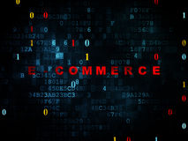 Finance concept: E-commerce on Digital background Royalty Free Stock Photography