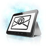 Finance concept: Email on tablet pc computer Stock Photo