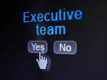 Finance concept: Executive Team on digital Royalty Free Stock Photo